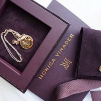 I received the most beautiful gift from monicavinader today hellip