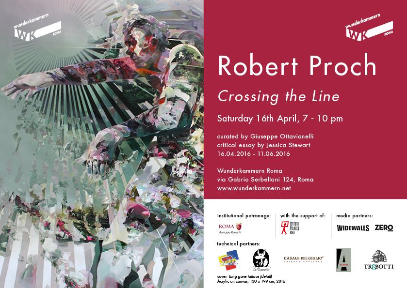 Crossing the Line - Solo show by Robert Proch - Wunderkammern Rome
