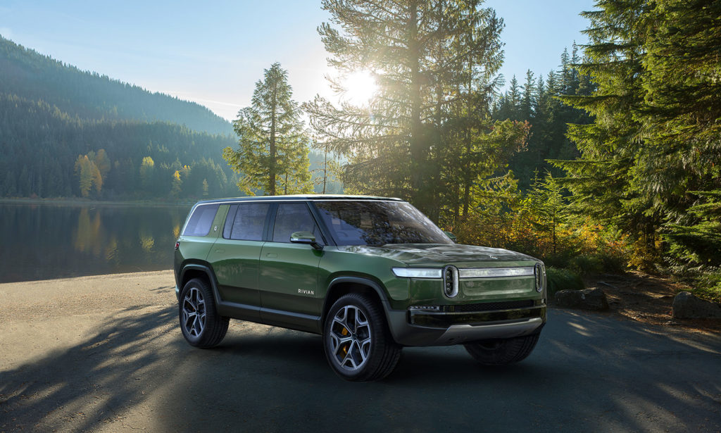 Rivian Unveils Their Electric Suv The 39r1s39 That Can Go