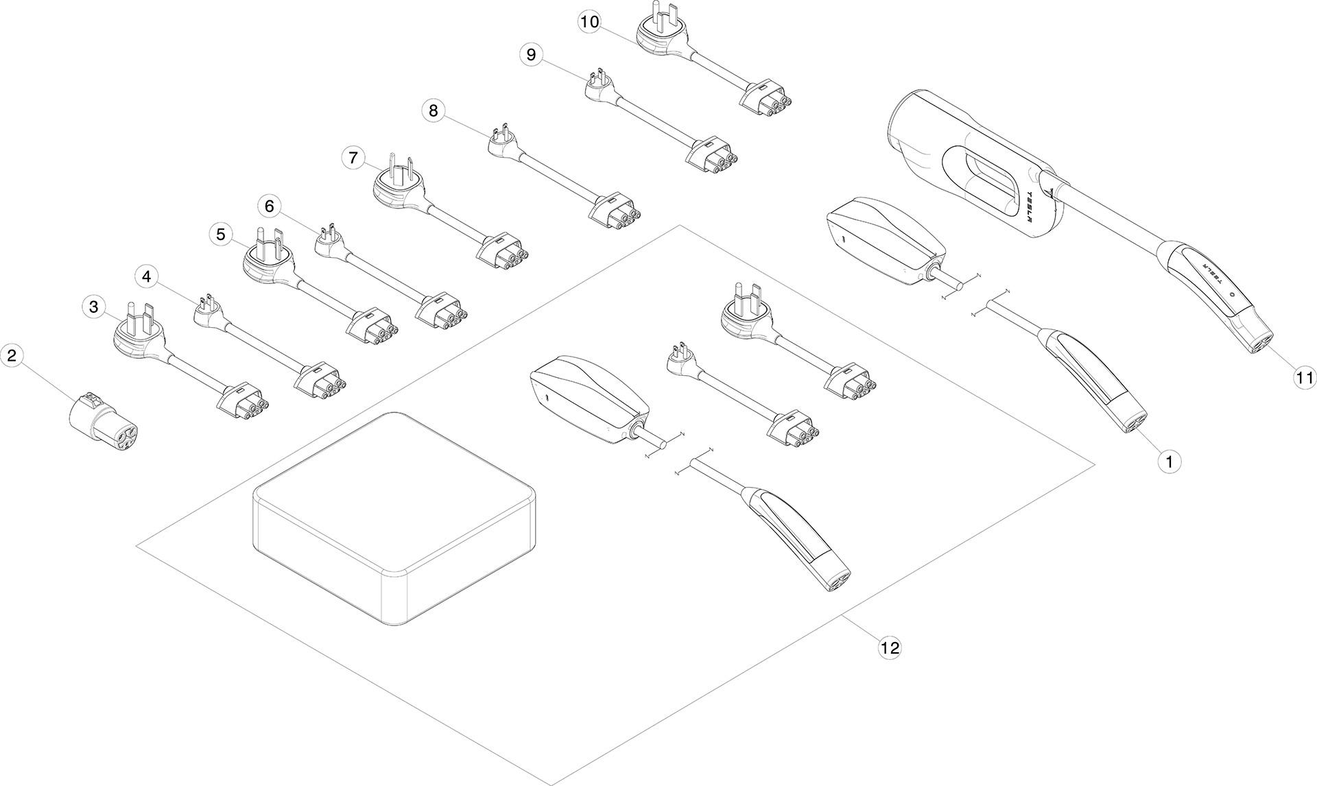 tesla parts diagram
