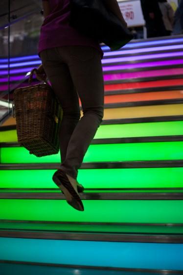 Multicolor Stairway
