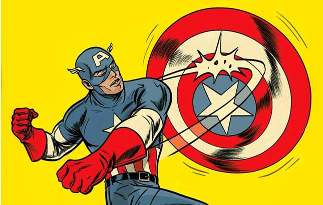 Sous le masque de nos h ros captain america - Masque de captain america ...