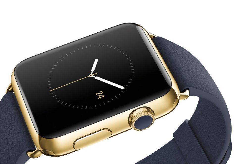 Apple Watch. Une montre connectée en or?