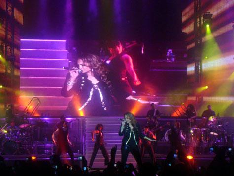 Jennifer Lopez @ OAKA Athens