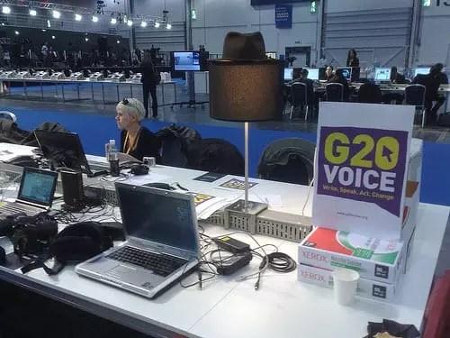 Bloggers στη Σύνοδο G20 στο Λονδίνο