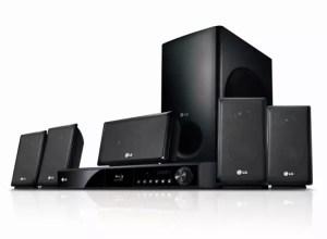 LG Blu-ray Home Theater (LHB335)