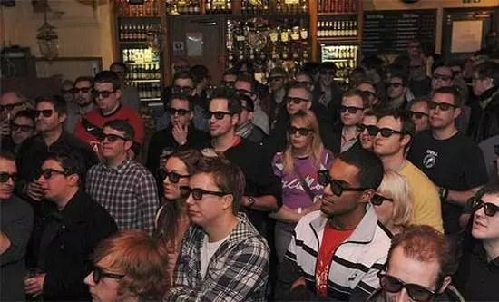Μετάδοση ποδοσφαιρικού αγώνα σε 3D