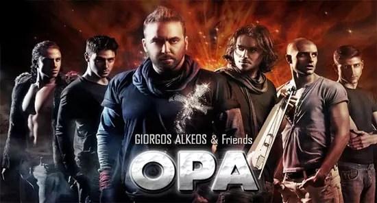 OPA, Γιώργος Αλκαίος, Eurovision