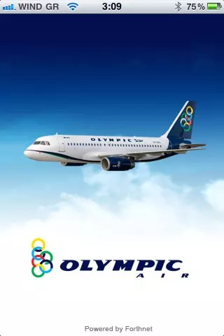 Olympic Air iPhone App