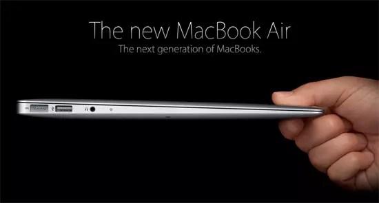 Νέο MacBook Air από την Apple!