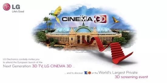 Η LG παρουσιάζει νέες 3D TV στο Παρίσι