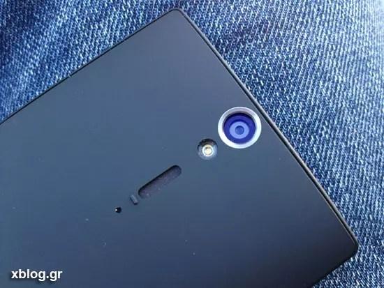 Sony Xperia S, Κάμερα 12.1 Megapixel