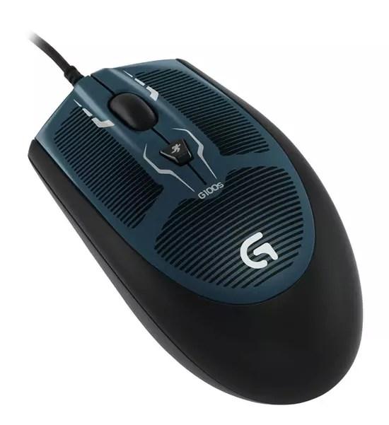 Οπτικό gaming ποντίκι Logitech G100s