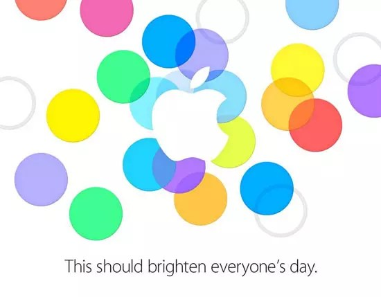Apple πρόσκληση event iPhone 5S