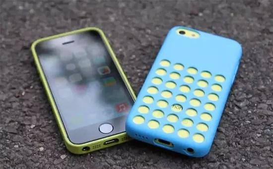 Drop test iPhone 5S, iPhone 5C