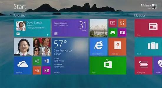 Διαθέσιμα τα Windows 8.1