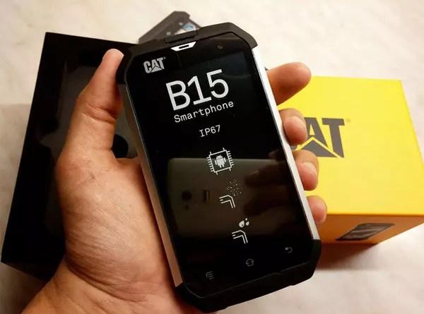 Cat B15 ανθεκτικό κινητό