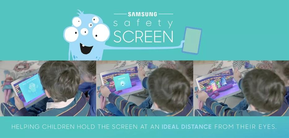 Samsung Safety Screen App