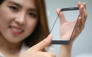 Η LG δημιούργησε αόρατο αισθητήρα δαχτυλικών αποτυπωμάτων για κινητά