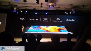 TP-Link Neffos X1 screen