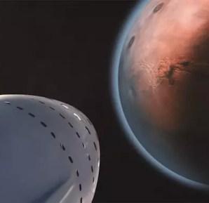 Elon Musk SpaceX travel to Mars