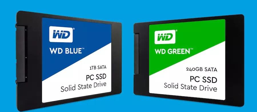 Western Digital WD Green - WD Blue