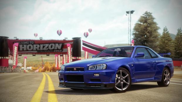 Nissan Skyline R34 GTR Forza Horizon
