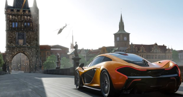 E3-2013-Forza-Motorsport-5-preview-McLaren-P1-in-game-screen-shot-rear-view