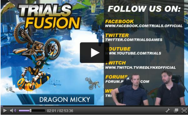 Twitch Trials Fusion avec DRAGON MICKY