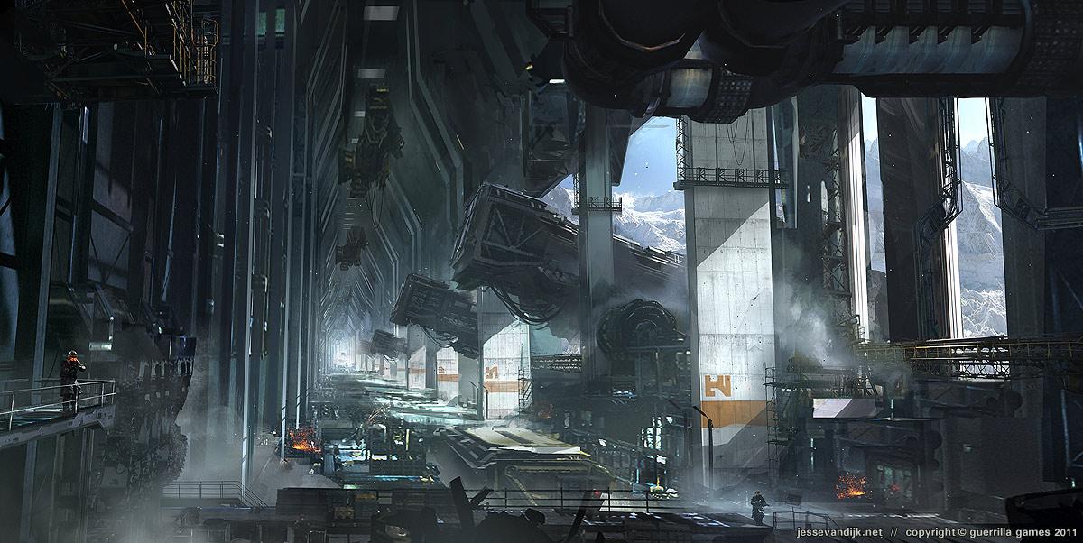 Killzone Shadow Fall Wallpaper 1080p Les Artworks Killzone 3 Que Personne N A Vus Xbox One