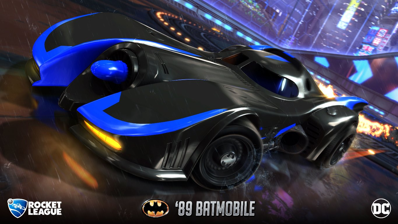 Future Car Wallpaper Rocket League Un Pack Dc Super Heroes Arrive Le 5 Mars