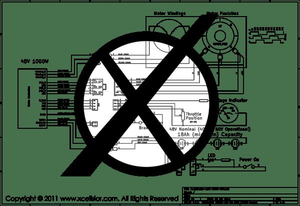 ebike wiring instructions xcellsior