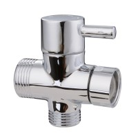 "G1/2"" 3-Way Shower Arm Diverter Valve Flow Control ..."