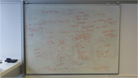 Whiteboard-2 Sony FS-100 Super 35mm NXCAM Camcorder Announced.