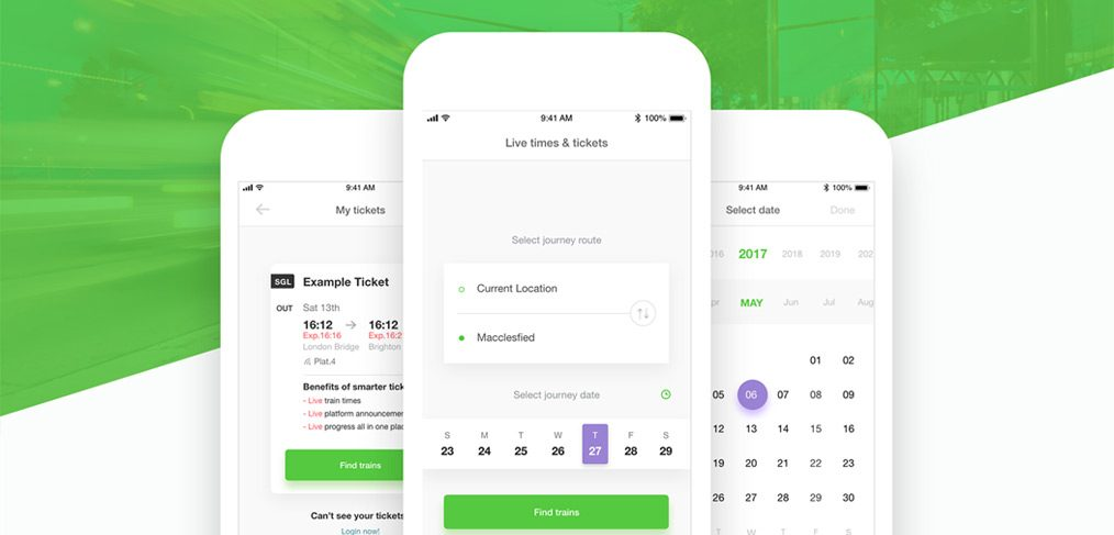 Ticket booking mobile app - Free UI kit - XDGuru