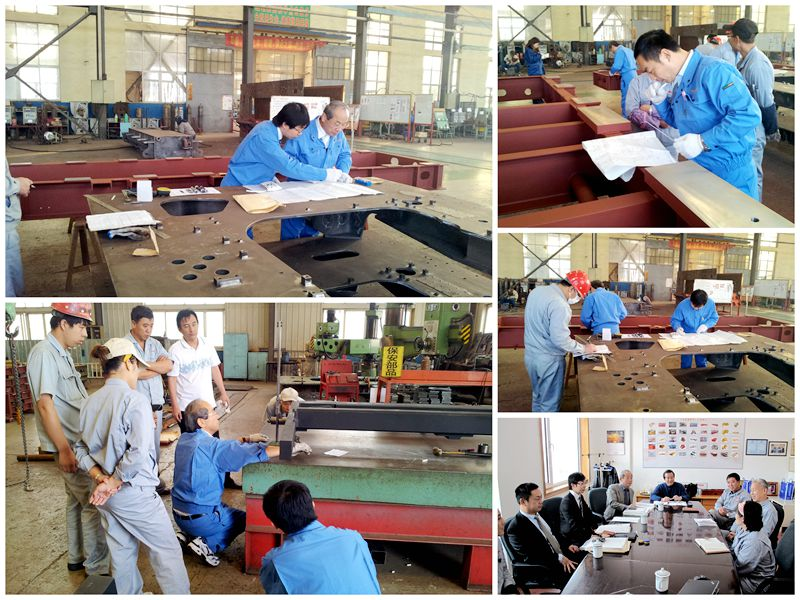 Mitsubishi Heavy Industry Customer visit to XDL Machinery