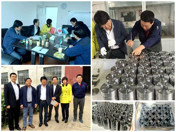 customer visit machined products xdl machienry