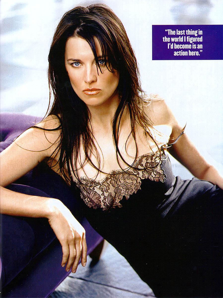 Spiderman Wallpaper Hd Lucy Lawless In Maxim Magazine April 1999