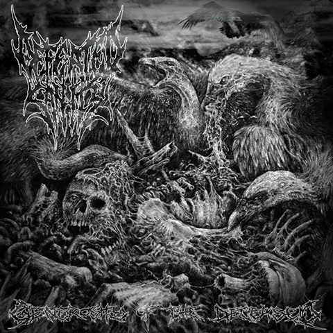 "DEFEATED SANITY / MORTAL DECAY ""split"" EP"