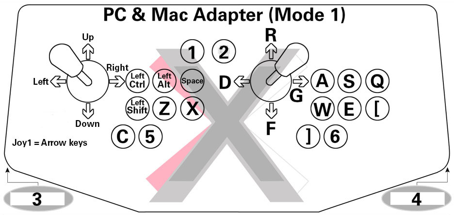 X-Arcade™ Programming Guide  Xgaming
