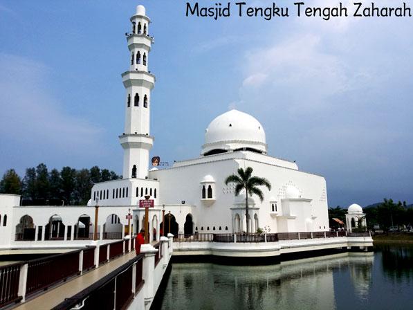 水上回教堂 ( Masjid Tengku Tengah Zaharah )