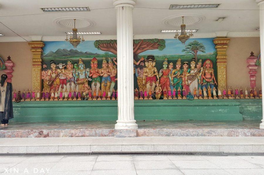 马里安曼印度庙 Sri Mahamariamman Temple