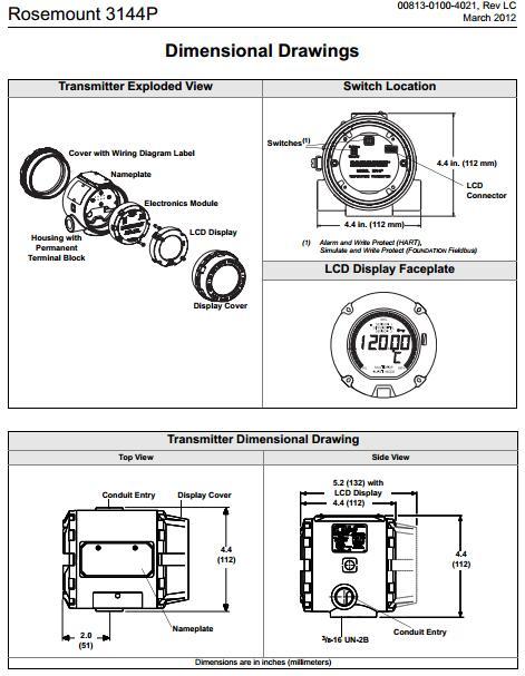 Rosemount 3144P Temperature Transmitter - Knowledge - Xi\u0027an Xinyuan