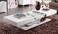 Burlington White Coffee Table Living Room Furniture | Xiorex