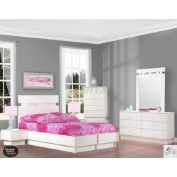 Small Crop Of White Platform Bed