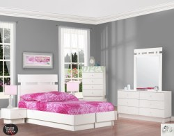 Small Of White Platform Bed