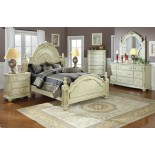 Cabin Bed Gami Montana Cabin Bed w Slide-out Bed in White ...