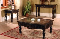 Ajax Coffee and End Table Living Room Furniture Set | Xiorex