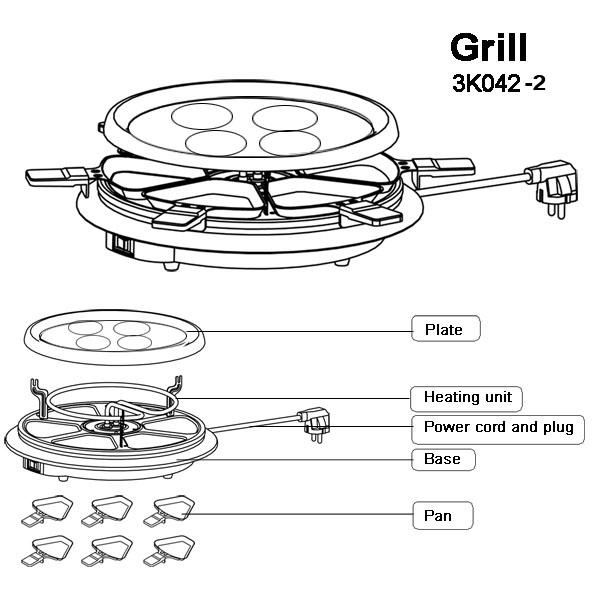 hvac power grill