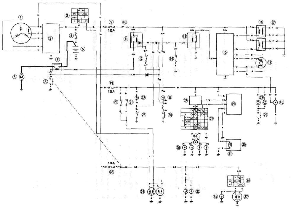 nippondenso 3 wire flasher wiring diagram